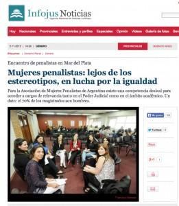Mujeres penalistas: lejos de los estereotipos, en lucha por la igualdad